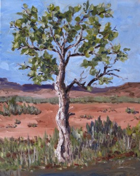 Reprise of Abiquiu Tree